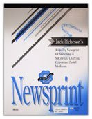 Jack Richeson 457259 Newsprint Pad with 100 Sheets - 18