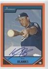 Kyle Blanks #143/250 (Baseball Card) 2007 Bowman - Prospects - Orange (143 Blank)