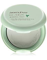 Innisfree No Sebum Mineral Pact, 8.5g (Best Korean Compact Powder)