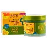 Alba Botanica Pore-Fecting Papaya Enzyme Hawaiian Facial Mask, 3 Ounce Jars (Pack of 2)