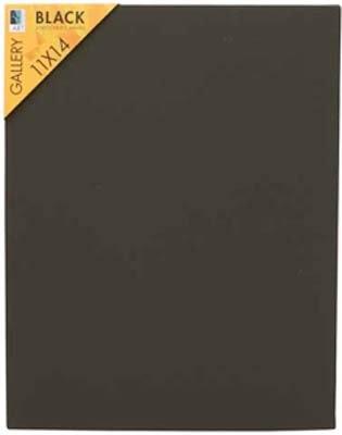 (Art Alternatives Studio Stretched Canvas in Black 8x10 )
