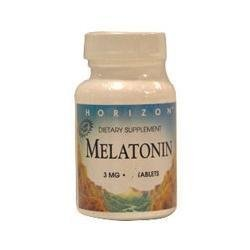 Amazon.com : HORIZON NATURALS MELATONIN 3MG TAB 60T 60 TAB : Nutrition And Wellness Products : Beauty