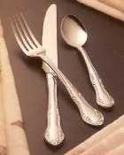Bon Chef S2507 Stainless Steel 18/8 Elegant Salad/Dessert Fo