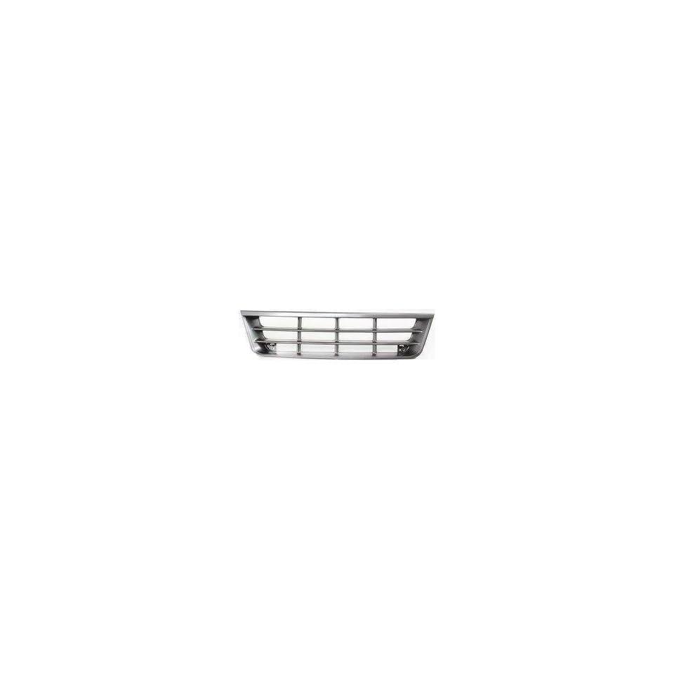 TKY FD07085GA MT5 Ford Econoline Van Chrome/Gray Replacement Grille