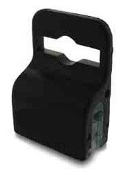 10 Pack - Black Gripper Card Holder Clamps for Standard Thickness ID Badge, by Specialist ID (10 Pcs. Plus Bonus)