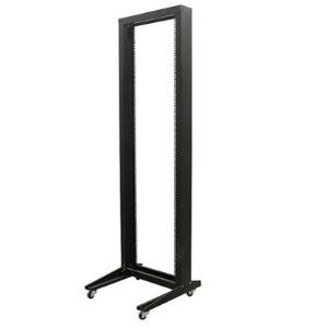 StarTech.com 42U 2 Post Open Frame Rack with Casters ()