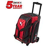 Moxy Bowling Products Double Roller Bowling Bag- Red/Black