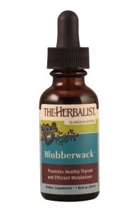 The Herbalist Blubberwack Thyroid Support Liquid Extract 1 oz