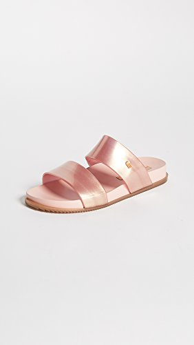 Sandalo Da Scivolo Cosmico Da Donna Melissa Metallizzato Rosa
