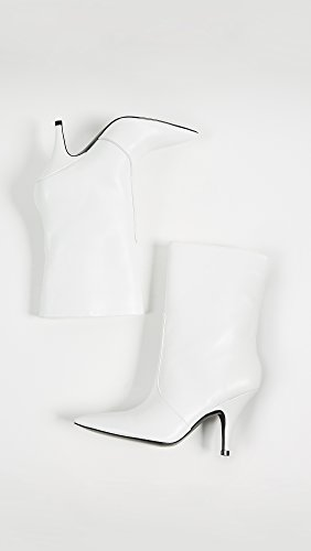 Kendall + Kylie Womens Calie Punkt Tå Støvler Hvite