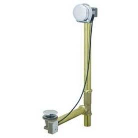Geberit 151.570.GG.1 Euro TurnControl Cascading Tub Filler, Polished Brass Finish, 1/16