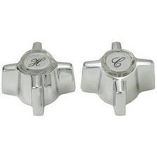 BrassCraft SH5357 Sterling Faucets Handle Pair for Tub/Shower Faucet Applications (Sterling Faucet Handles)