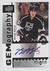 Brian Boyle (Hockey Card) 2009-10 Upper Deck Black Diamond Gemography [Autographed] #GBB
