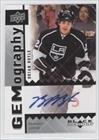 Brian Boyle (Hockey Card) 2009-10 Upper Deck Black Diamond - Gemography - [Autographed] #GBB