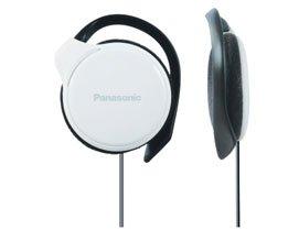Panasonic RP-HS46E-W Slim Earhook Headphone (White)
