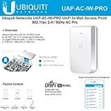 Ubiquiti Networks UniFi In-Wall Access Point UAP-AC-IW-PRO 802.11ac 2.4 / 5GHz AC Pro by UBNT
