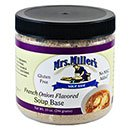 Mrs. Miller's French Onion Flavored Soup Base 6/10oz Jars (French Onion Soup Chicken)