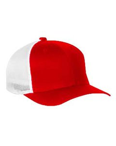 Flexfit Trucker Cap. 6511 - Red / White - One Size from Flexfit
