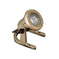 Focus Lighting SL-33 12V 20W Brass Underwater Light by Focus Industries