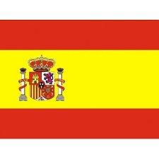 Bandera Oficial de España de poliester 150 x 90 cm.  Amazon.es ... ed540b286bc20