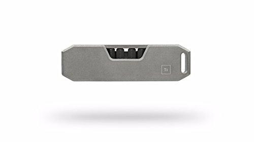 BIG IDEA DESIGN Bit Bar : The Pocket Friendly EDC Screwdriver - Grade 5 Titanium (Stonewashed)