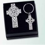 (Celtic Key Ring and Visor Clip Set)