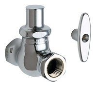 Legend Valve Company - Chicago Faucet Company 45-LKABCP Chicago Straight Stop Fitting Lead Free, 4