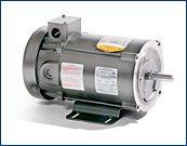 - 3/4 hp 1750 RPM 56C Frame 180 Volts DC Baldor Electric Motor # CDP3436