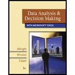 Data Analysis and Decision Making with Microsoft Excel-Textbook ONLY