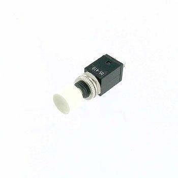 ミヤマ電器 押しボタンスイッチ 白 DS-410-W