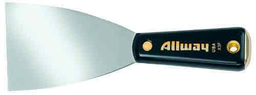 Allway Tools 3-Inch Nylon Handle Flexible Wall Scraper
