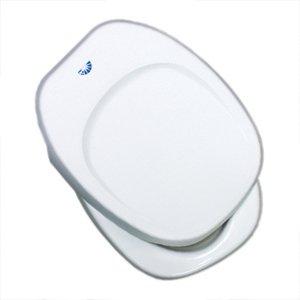 Aqua Magic Iv Toilets (Thetford (36788) Aqua Magic IV White Seat and Cover Assembly)