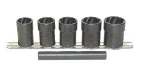 Lti Tools (LTI Tools LOC-4400 5 Pieces Twist Socket Fast Removal Kit)