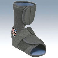BSN Medical Healwell CUB Plantar Fasciitis Night Splint (Left Medium Black) - Healwell Cub Night Splint