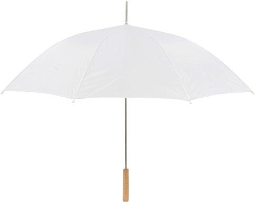 Anderson Umbrella Auto Open Wedding Umbrella (60-Inch, White)