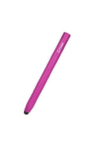 Samsung Galaxy S6 Edge Rubber Point Metallic Stylus Hexagonal Shape Pink