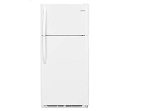 (Frigidaire FFTR1814TW 30 Inch Freestanding Top Freezer Refrigerator with 18 cu. ft. Total Capacity, 2 Wire Shelves, 3.9 cu. ft. Freezer Capacity, in White )