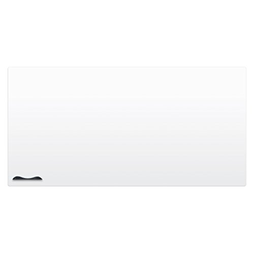 Best-Rite Elemental Magnetic Dry Erase Whiteboard Peel-n-Stick Skin, 4 x 8 Feet, White (208JH-25) ()