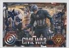 Captain America: Civil War (Trading Card) 2016 Upper Deck Captain America: Civil War - [Base] - Blue Foil #12 by...