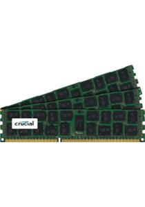 Crucial 24GB (3 x 8GB) ECC Registered DDR3 PC3-12800 1600MHz Server Memory Model CT3K8G3ERSLD8160B (Ecc Sdram Registered)