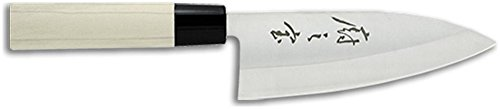 Mercer Culinary Asian Collection Deba Knife, 6-inch by Mercer Culinary