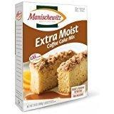 Manischewitz Appurtenance Moist Coffee Cake Mix KFP 13 Oz.Pack Of 3.