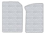 Hummer H2 Custom-Fit All-Weather Rubber Floor Mats 2 Pc Fronts - Crew Cab Pickup - Crystal Clear (2003 03 2004 04 2005 05 2006 06 2007 07 ) AMS027U435110  800PNBW9