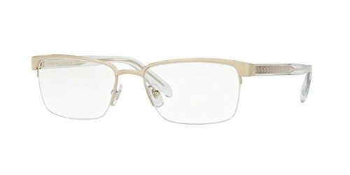 Versace Men's VE1241 Eyeglasses Pale Gold - Men Versace For Gold Frames