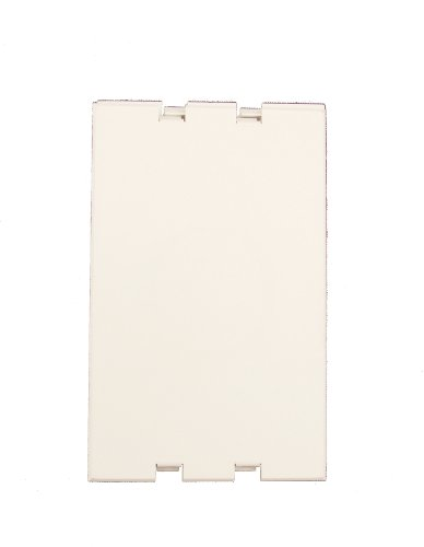 Leviton 47617-PLT Replacement snap-in plates for Recessed Entertainment Box, White