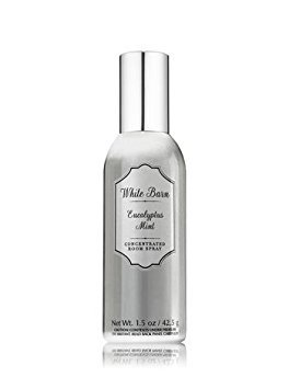 - Bath and Body Works White Barn Eucalyptus Mint Concentrated Room Spray, 1.5 Ounce
