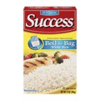 Success Rice 10 Minute Boil-in-Bag Natural Long Grain Rice 14 oz (Pack of 12) by SUCCESS