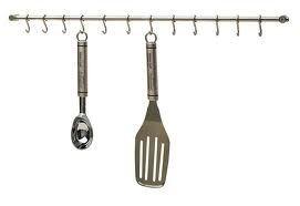 Kitchen Craft Stainless Steel Utensil Hanging Rack (Hanging Rack)