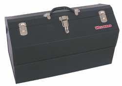 Westward 10J160 Portable Tool Box, 22 Wx10 Dx12-5/8 H, Blk (Tool Westward Box)