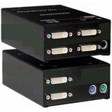 Rose Electronics CrystalView CRK-2DFSPD2D Dual Video DVI Fiber KVM Extender (CRK-2DFSPD2D)